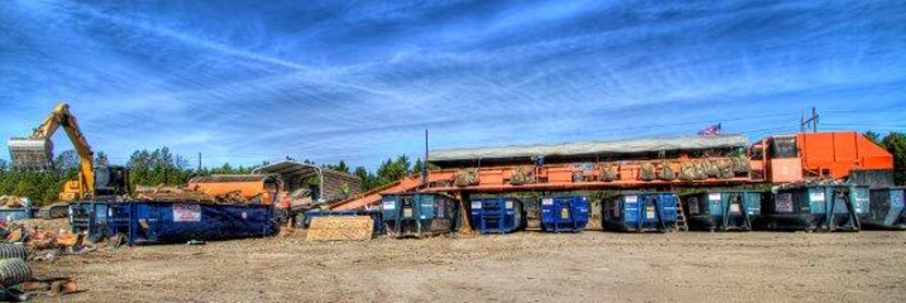 Our Construction and Demolition Recycling Process