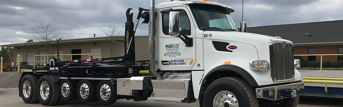 Roll-off containers and dumpster services, recycling, and construction